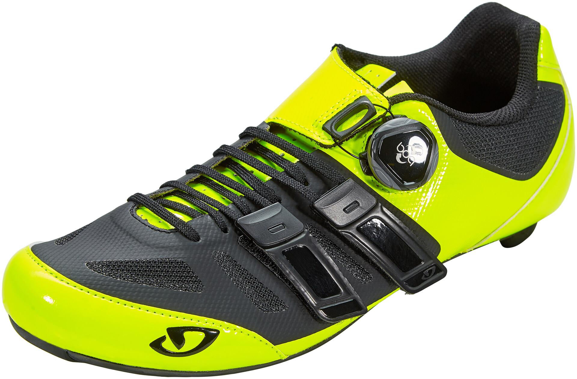 Giro Sentrie Techlace Scarpe Uomo, highlight yellowblack